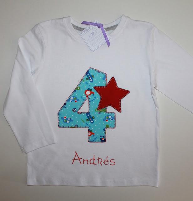 camisetas de cumpleaños 4 años mellizos