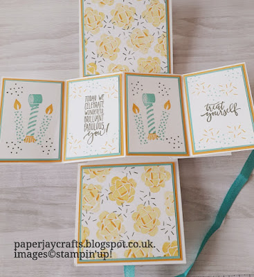 Picture perfect, pop and twist, stampin up