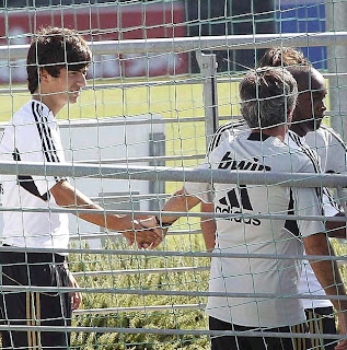 Enzo Zidane trained for Real Madrid for the first time