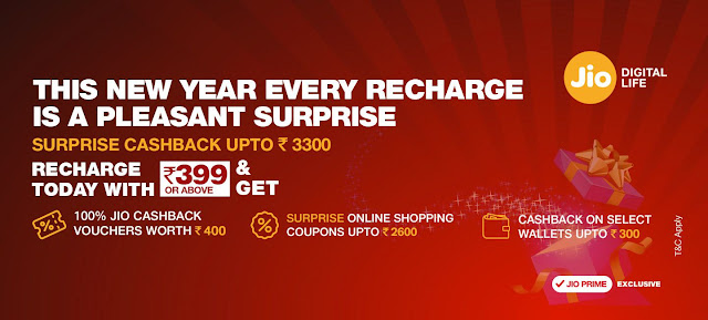 Jio-NEW-YEAR-Offer latest Jio Recharge Plans  2017 – Rs 149, 309, 349, 449 Prepaid & Postpaid android