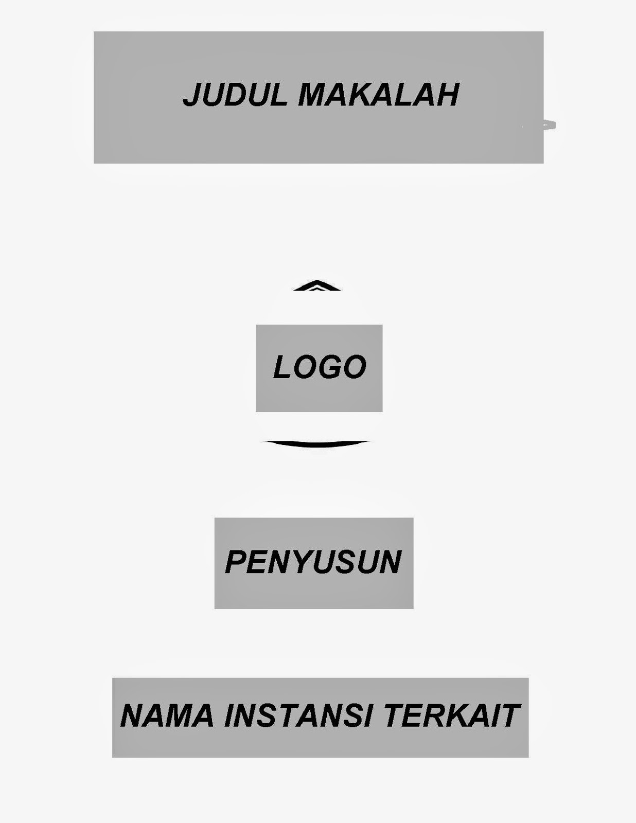 Contoh Cover Makalah Stain Curup Our Families Journey