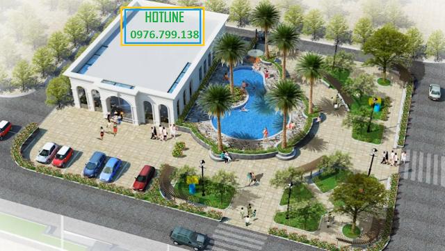 khuôn viện dự án Eco City