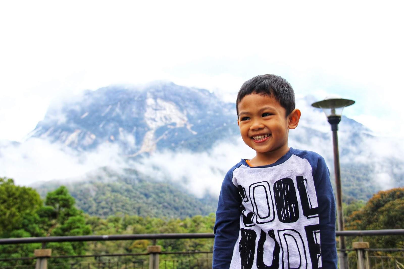 Hafiz di Kinabalu Park