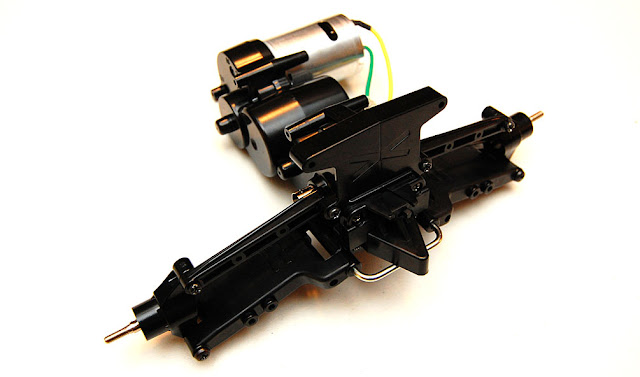 Tamiya Blackfoot Xtreme front suspension