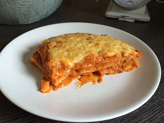 Eierlasagne low carb