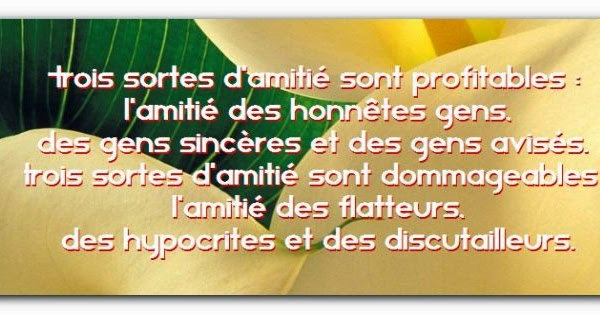 Belle citation d'amitié gaché ~ Citation d'amitié