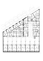 Pianta piano tipo del progetto Easydora a Torino