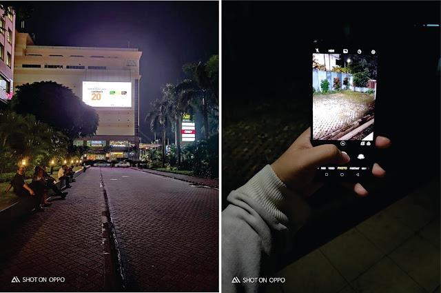 mode malam kamera oppo r17 pro