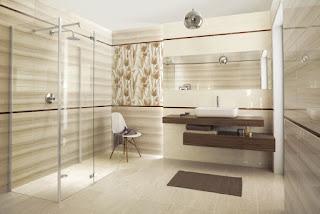 cuarto de baño color beige