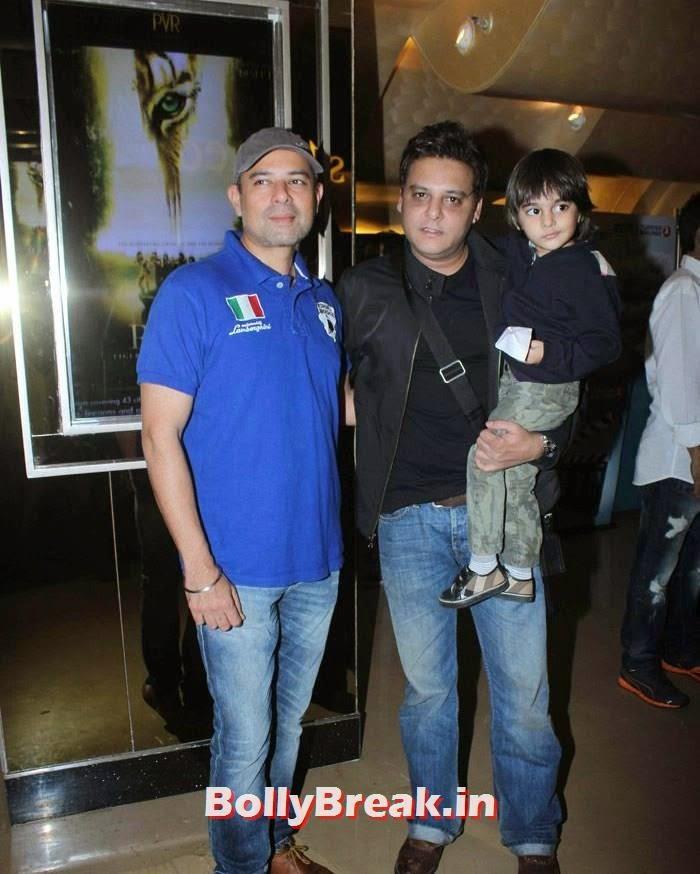 Atul Agnihotri, Abis Rizvi, Celebs at 'Roar' Movie First Look Launch
