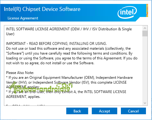 Intel Chipset Device Software kuyhaa