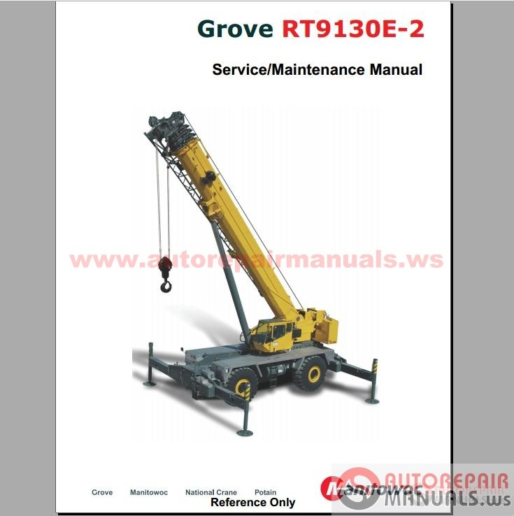 Free Auto Repair Manual   Grove Crane All Service Manual