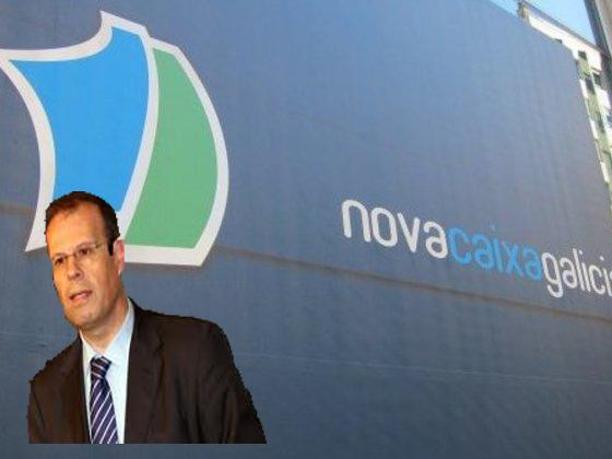 Motivo de indignados el responsable de un banco rescatado for Oficinas novacaixagalicia madrid