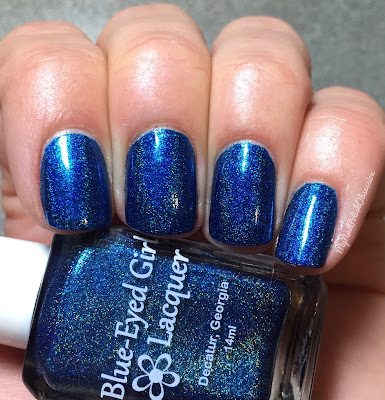 Addicted to Holos, February 2016; Blue Eyed Girl Lacquer Hint of a Spark
