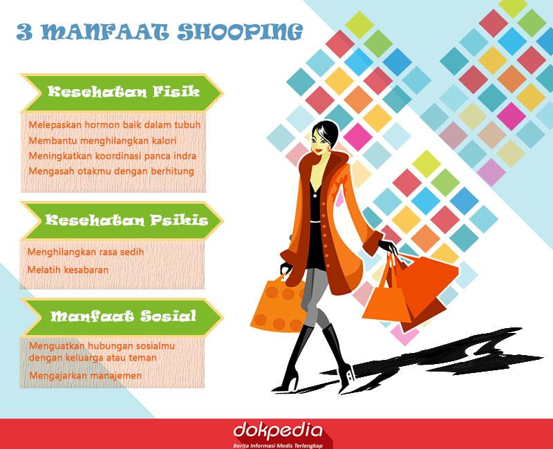 3 manfaat shopping - dokpedia