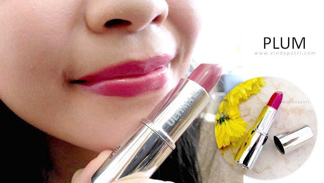 Review ULTIMA II Delicate Lipstick - Plum