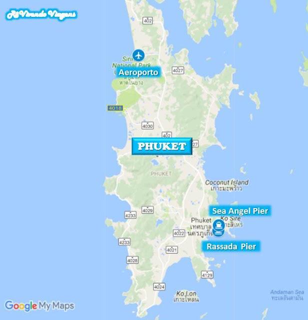 como ir de phuket pra phi phi