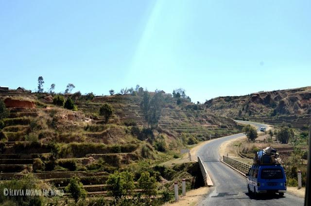 carretera  a Miandrivazo, Madagascar