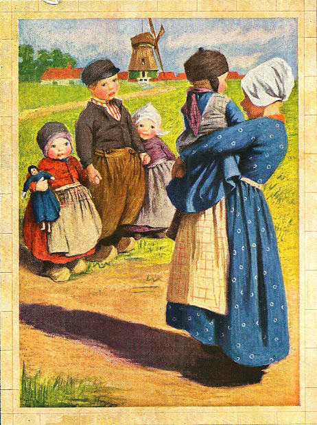 Antique Free Dutch Illustration Paintings