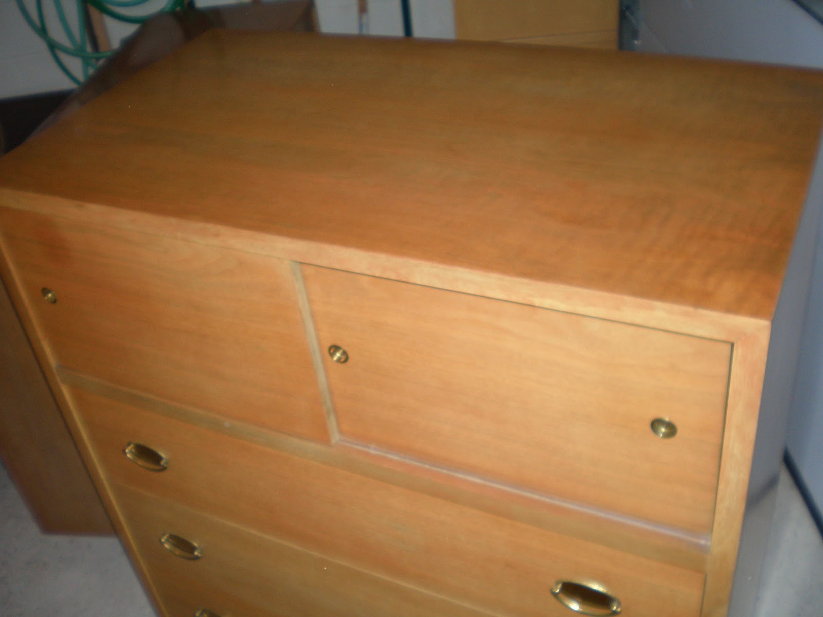 The Retrospective Modernist Mid Century Highboy From The