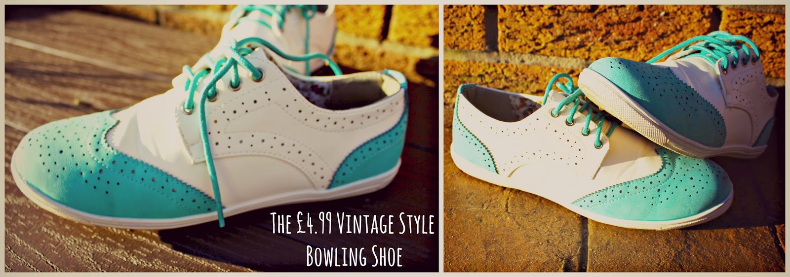 The £4.99 Vintage Style Bowling Shoe