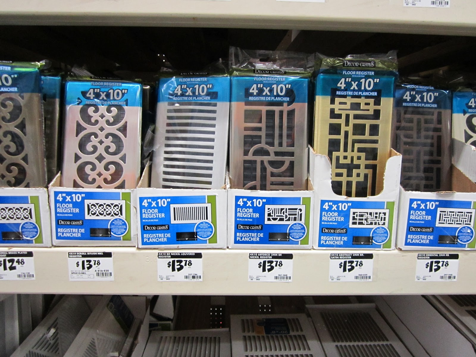 Plancher Home Depot Stylish Vents
