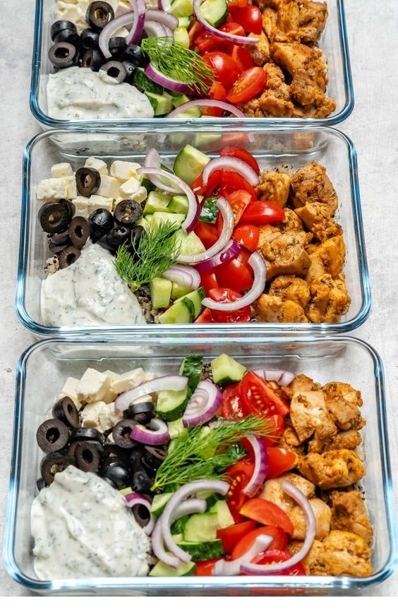 Greek Chicken Meal Prep Bowls for Clean Eating