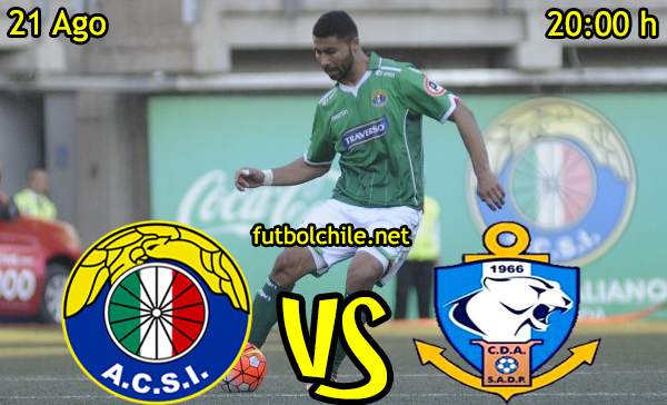 Ver stream hd youtube facebook movil android ios iphone table ipad windows mac linux resultado en vivo, online: Audax Italiano vs Deportes Antofagasta,