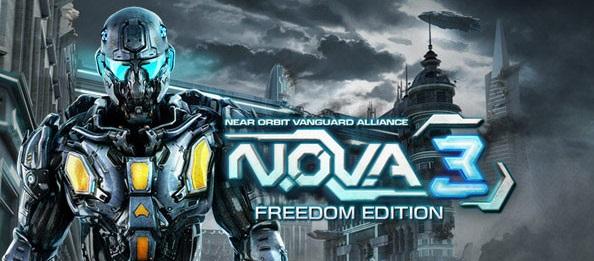 Permainan perang N.O.V.A. 3 Freedom Edition