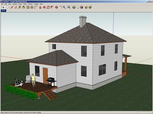 تحميل برنامج SketchUp لتصميم المباني و المجسمات ثلاثية الأبعاد 3D