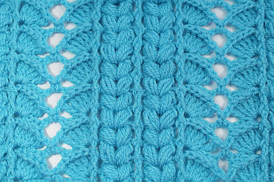 2 - Crochet Imagen Majovel crochet puntada para cobijas, mantas , jerseis y chambritas.