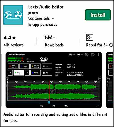Lexis Audio Editor Android For Voice Clearity