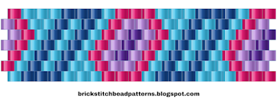 Free Brick Stitch Bead Pattern 7 Download