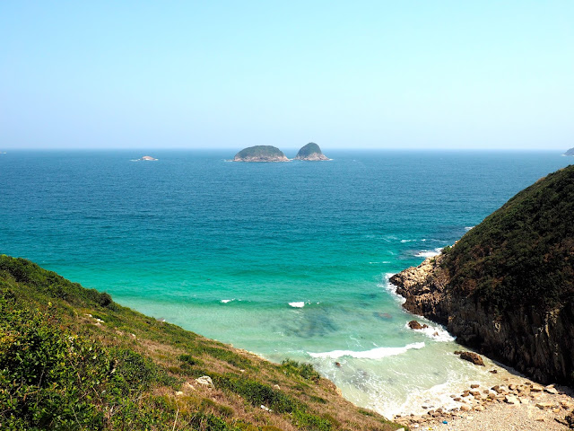Coastal views around Tai Long Wan, Hong Kong