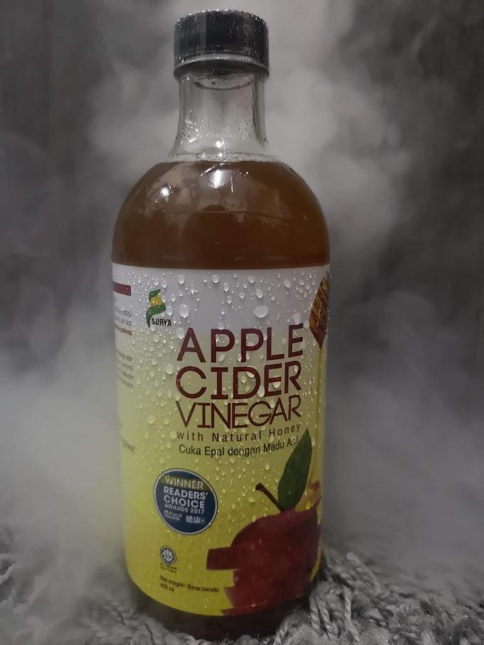 Berbaloi Ke Beli Surya Apple Cider Vinegar Untuk Atasi Kembung Perut?