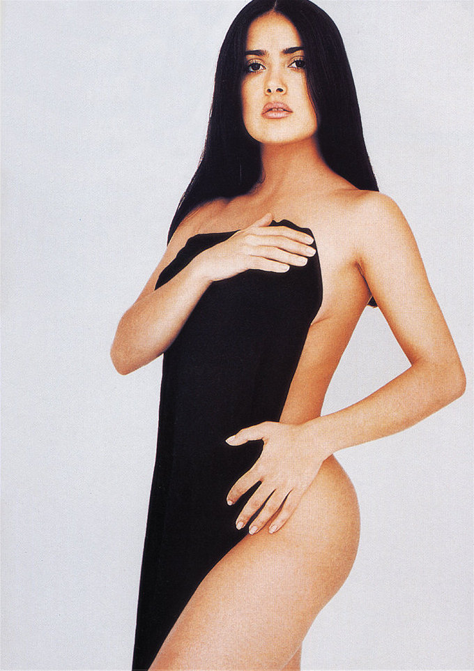 Consider, that salma hayek hot young pity