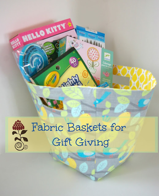 Gift fabric tutorial -free for limited time
