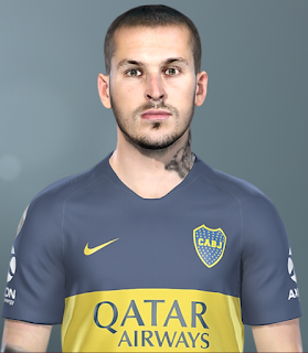 PES 2019 Faces Darío Benedetto by SeanFede