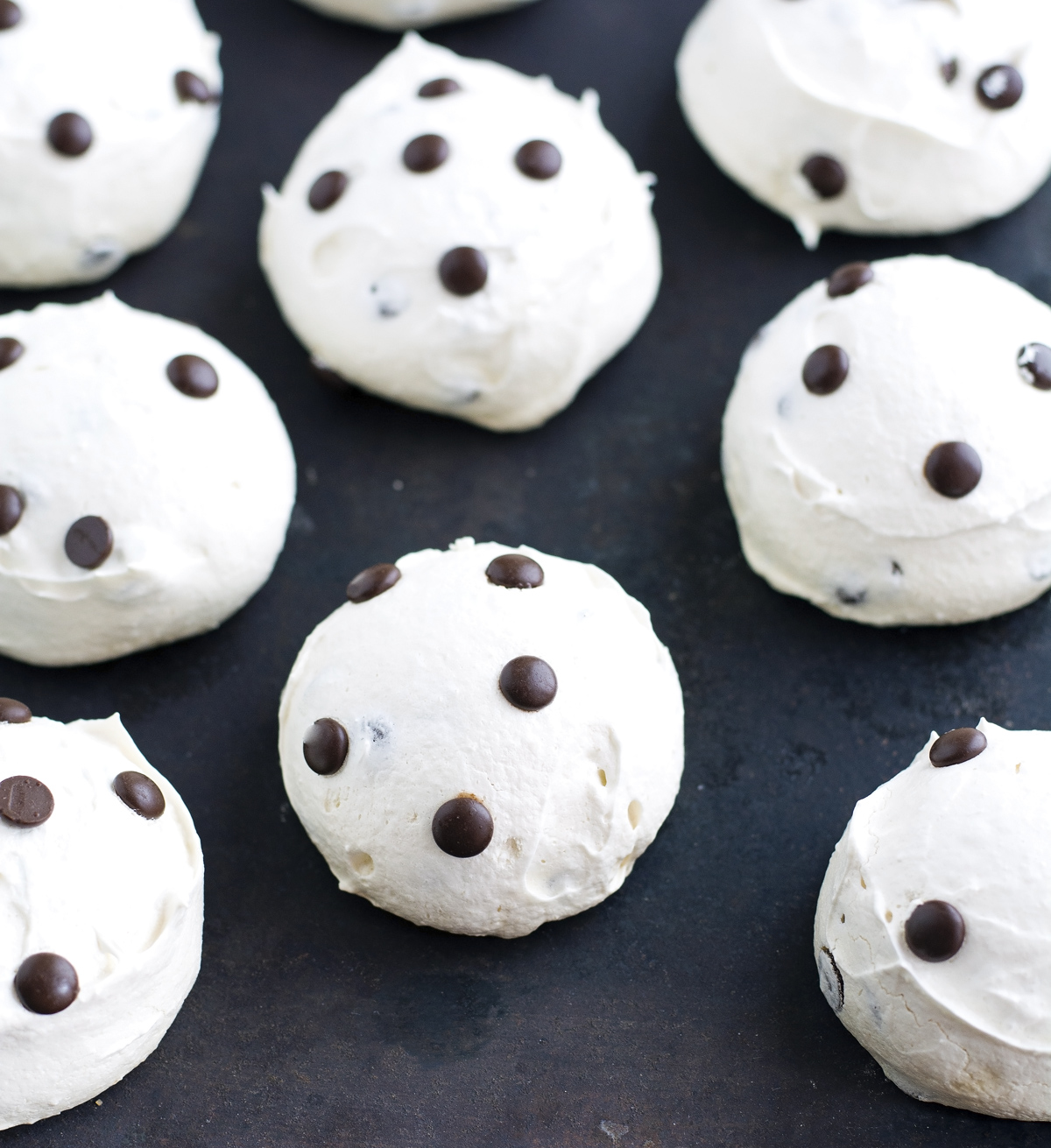 Mom's Chocolate Chip Meringue Cookies