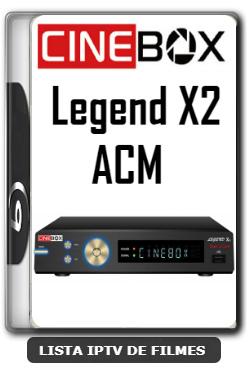 Cinebox Legend X2 ACM Melhorias no IKS Nova Atualização - 09-01-2020
