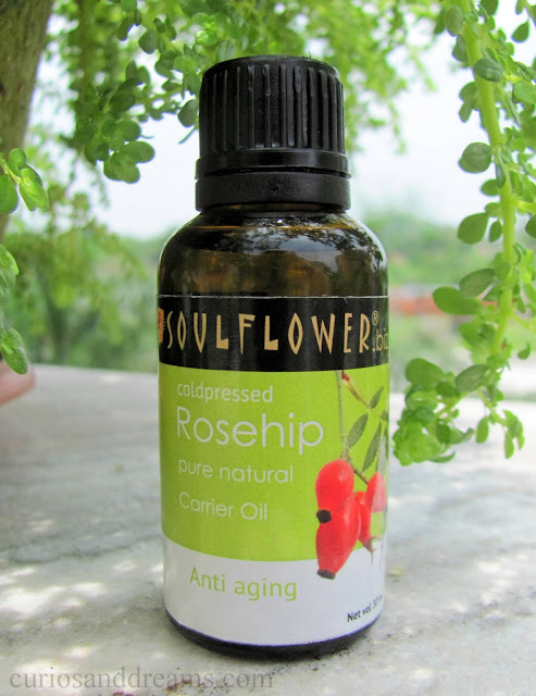 SoulFlower Coldpressed Rosehip Carrier Oil review