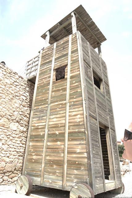 Resultado de imagen de torre de asedio romana