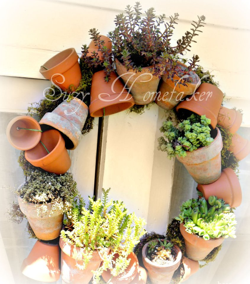 Recycled Plant Pots: Suzy Homefaker: CREATIVE RECYCLED PLANTER