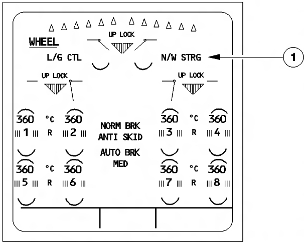 Aviation Troubleshooting: TAM Flight JJ8078 - Nosewheel