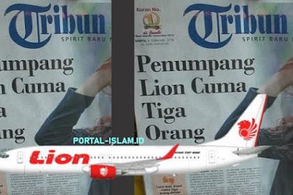 HOT NEWS: Dampak Mahalnya Harga Tiket, Penumpang Lion Air Cuma Tiga Orang