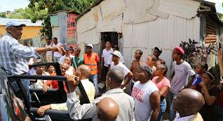 Alcaldía SDE  reparará viviendas afectadas por el huracán Mathew