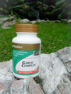 Garlic Complex Shaklee bantu rawat keputihan semasa hamil