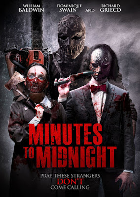 Minutes To Midnight Horror Movie Poster