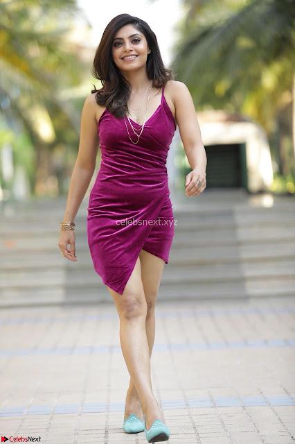 Bhavna Rao in Velvet Cute Small Purple Dress Spicy Pics ~  Exclusive Pics 002.jpg