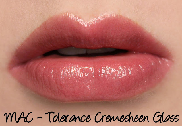 MAC Caitlyn Jenner Collection - Tolerance Cremesheen Glass Swatches & Review